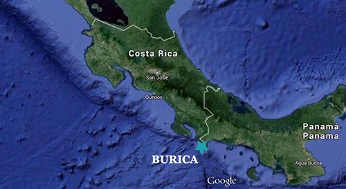 Burica liegt im äußersten Süden Costa Ricas