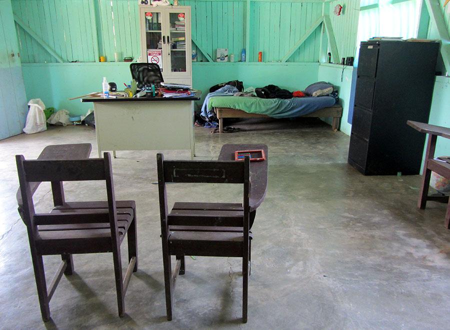 Die Schule in Burica