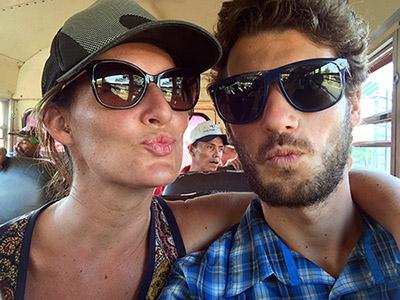 Wir zwei in Nicaragua