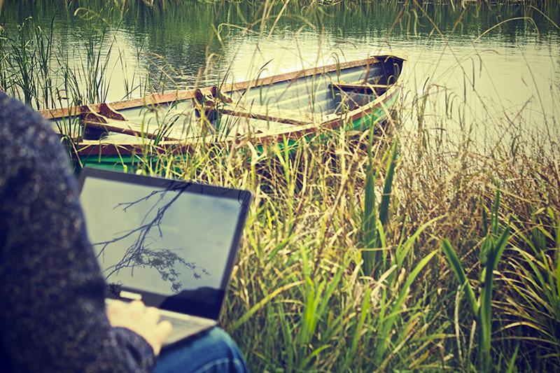 Online Arbeiten bringt ungeahnte Freiheiten