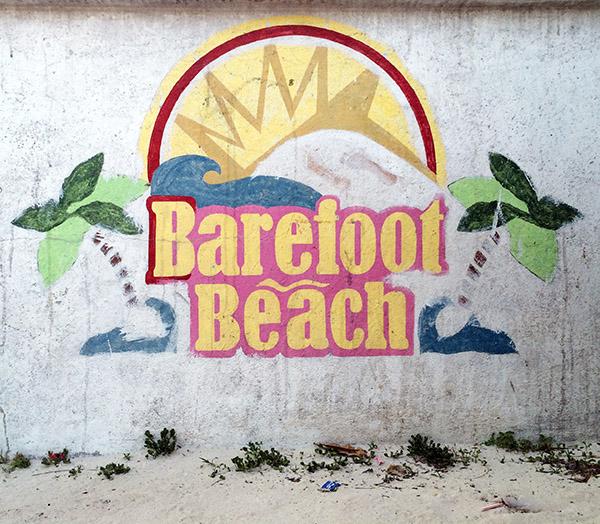 Caye Caulker - Barefoot Beach
