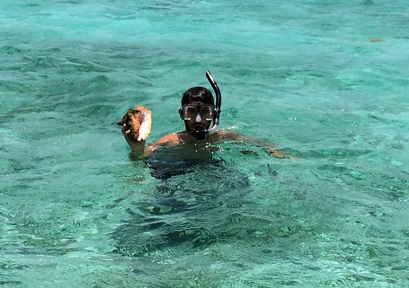 Schnorcheln im Belize Barrier Reef