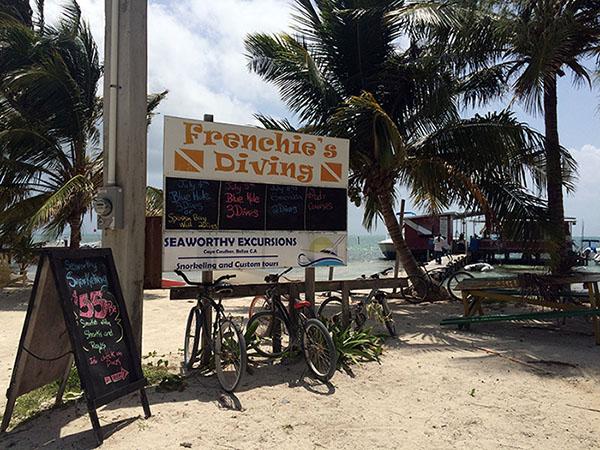 Frenchie's Diving bietet tolle Schnorcheltouren auf Caye Caulker