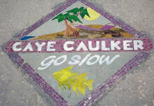 Lebenseinstellung auf Caye Caulker - Go Slow