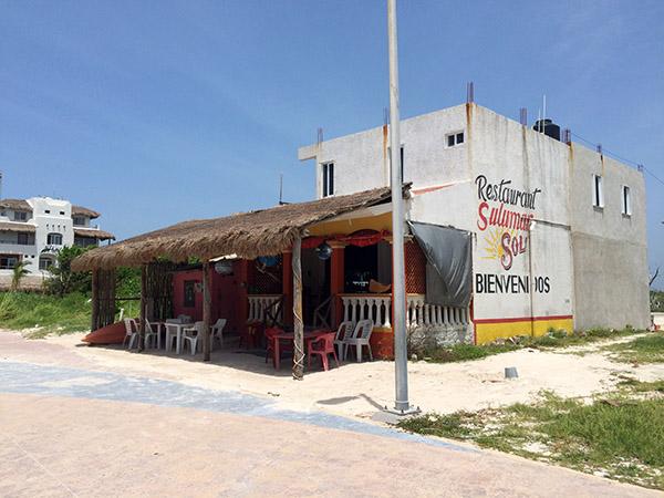 Restaurant Sulumar in Mahahual