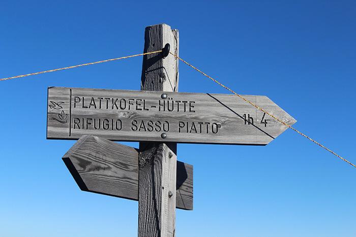 Südtirol - italienisch und deutsch sind überall Pflicht