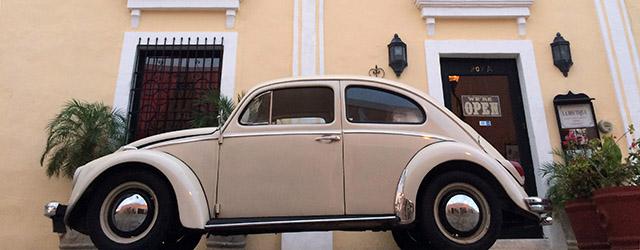 VW Käfer, ein altes Symbol Mexikos
