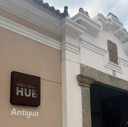Der Coworking Space Impact Hub in Antigua, Guatemala