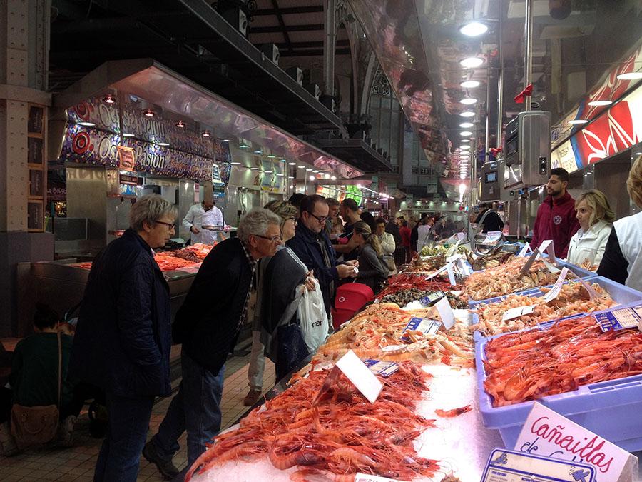 Im Mercado Central von Valencia
