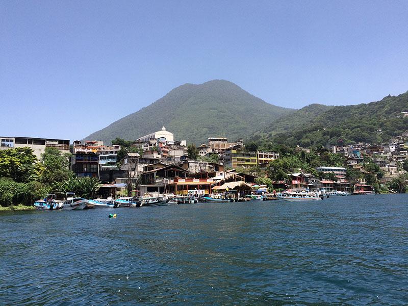 San Pedro La Laguna am Lago Atitlán in Guatemala