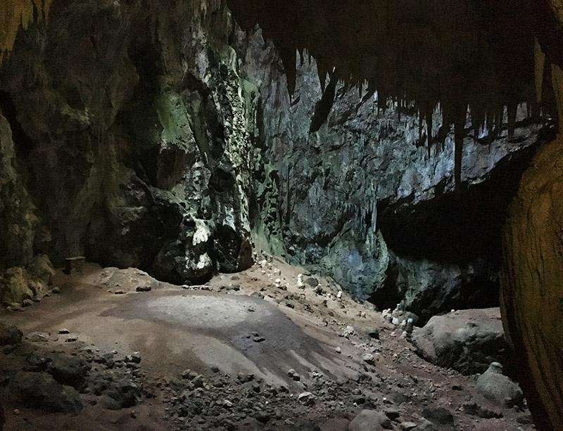 Avenc de Son Pou - im Inneren der Höhle