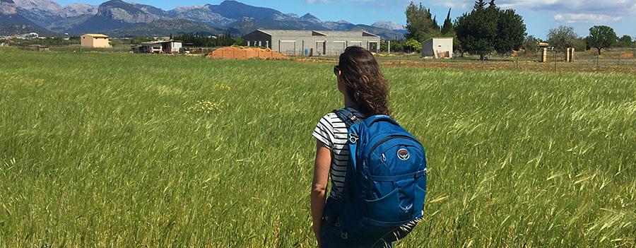 Mein Handgepäck Rucksack, der Osprey Farpoint 40, kommt auf jede Reise mit!