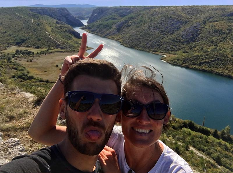 Ein herrlicher Ausflug in den Krka Nationalpark in Kroation - Roski Slap