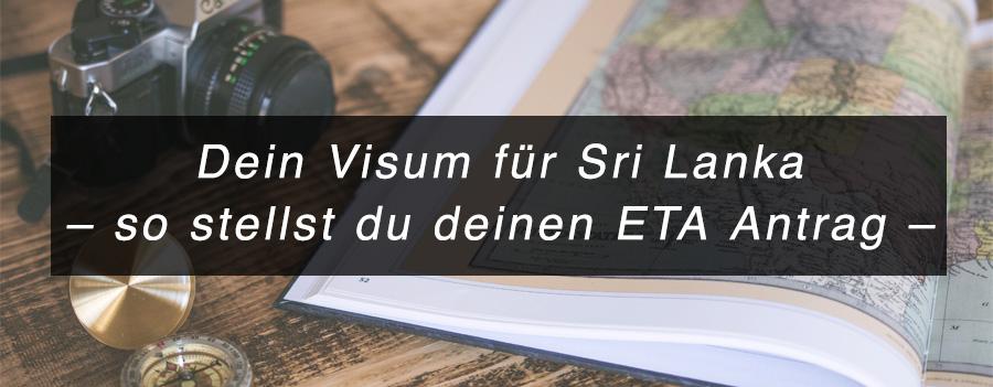 Dein Visum für Sri Lanka – so stellst du deinen ETA Antrag