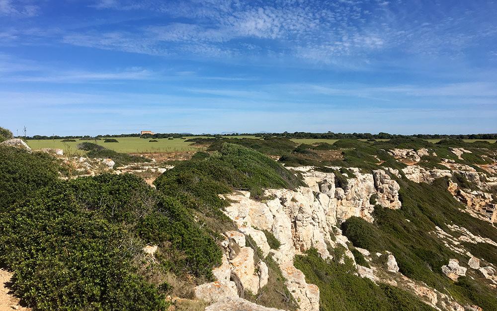 Wanderung zur Marmorbucht an der Ostküste von Mallorca