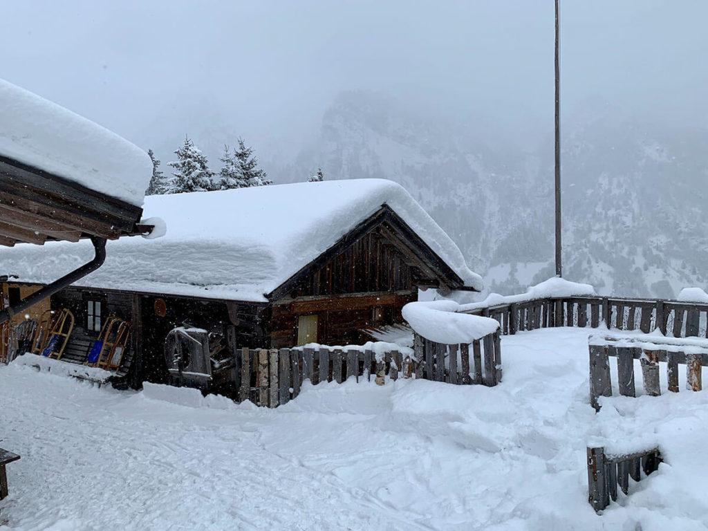 Allriss Hütte-Südtirol-Pflersch - Winter in Südtirol Rodeln
