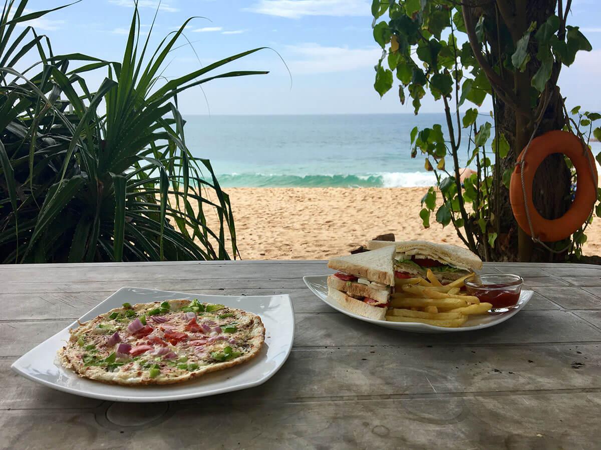 Sri Lanka Unterkunft Crazy Coconut Villa in Dalawella bei Unawatuna