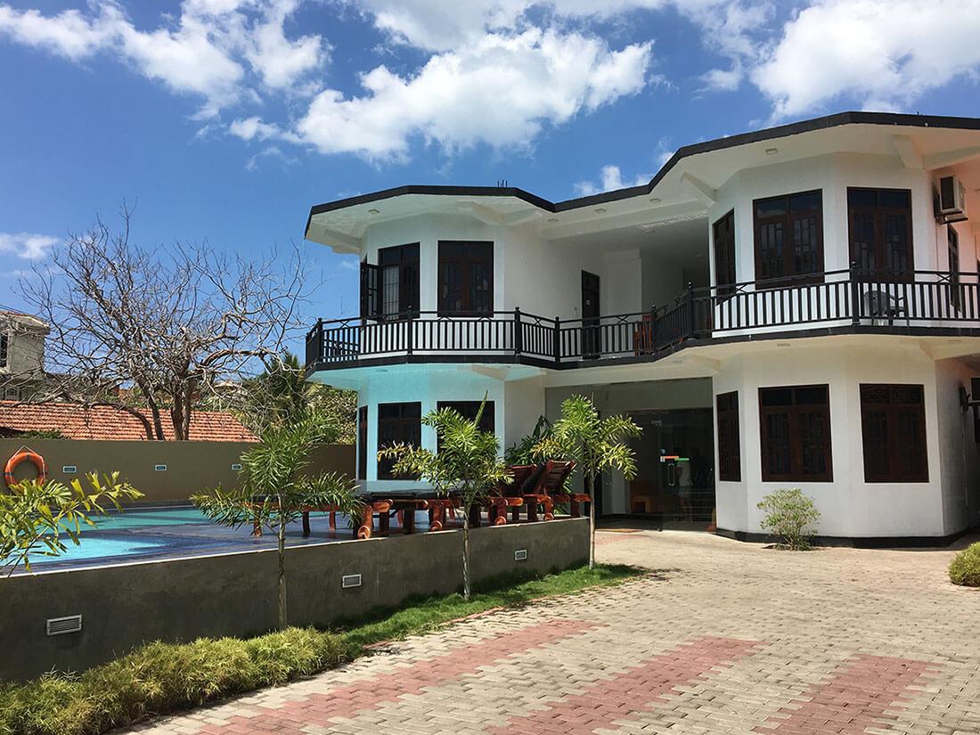 Sri Lanka Unterkunft Ocean Glory Hotel in Negombo