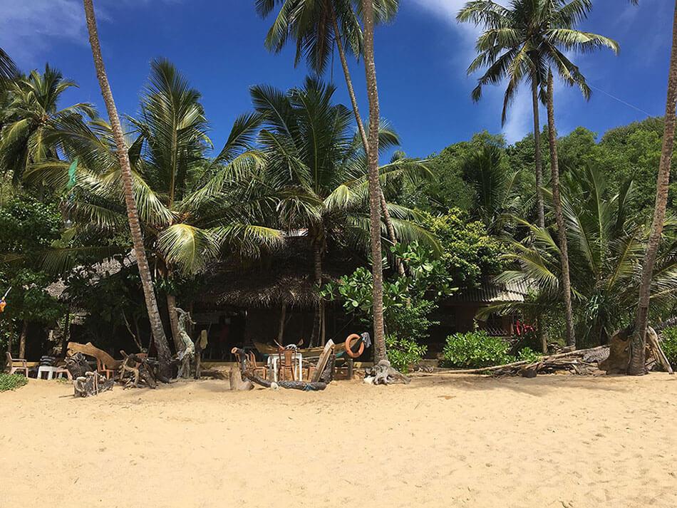 Sri Lanka Unterkunft Ranlakshmi Paradise Beach bei Tangalle