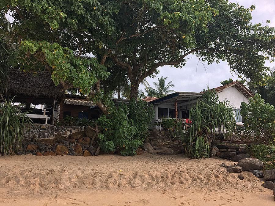 Sri Lanka Unterkunft Sea Front Villa in Dalawella bei Unawatuna