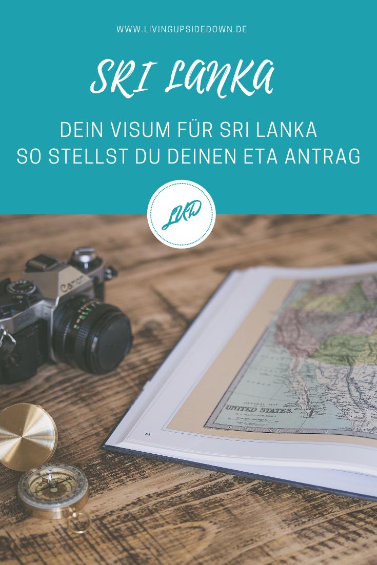 Reisen in Sri Lanka: So beantragst du dein Visum für Sri Lanka und stellst deinen ETA Antrag - hier findest du eine Schritt für Schritt Anleitung