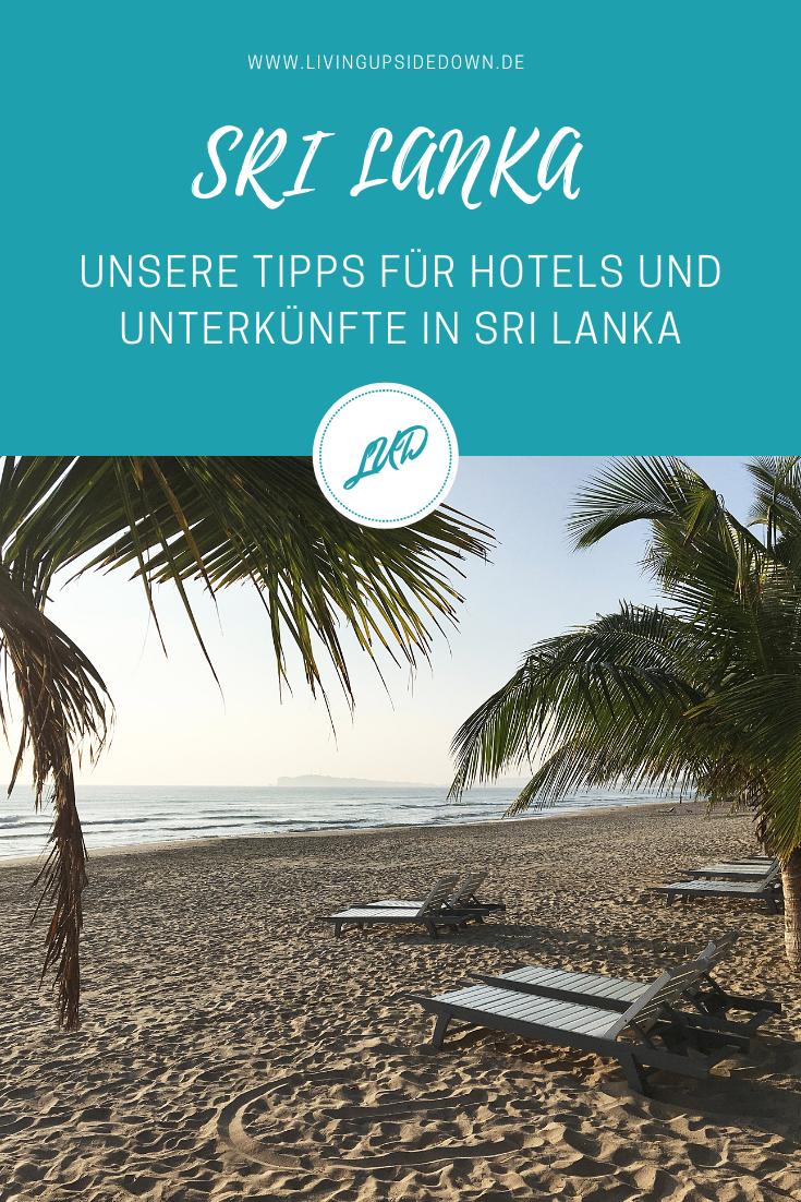 Reisen in Sri Lanka: Unsere Hotels und Unterkünfte in Sri Lanka – Empfehlungen & Tipps - hier findest du alle Informationen für deinen Urlaub in Sri Lanka