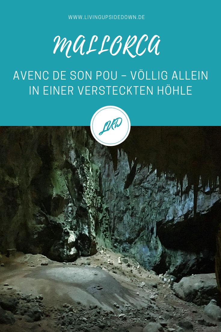 Wandern auf Mallorca: AVENC DE SON POU – VÖLLIG ALLEIN IN EINER VERSTECKTEN HÖHLE - hier findest du alle Informationen für deine Wanderung