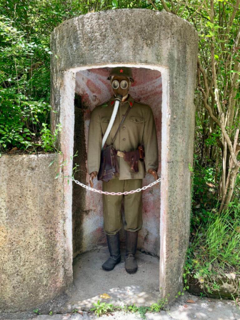 Eindrücke aus dem Bunk'Art 1 Bunker in Tirana (Albanien)